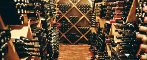 Interior of a wine cellar